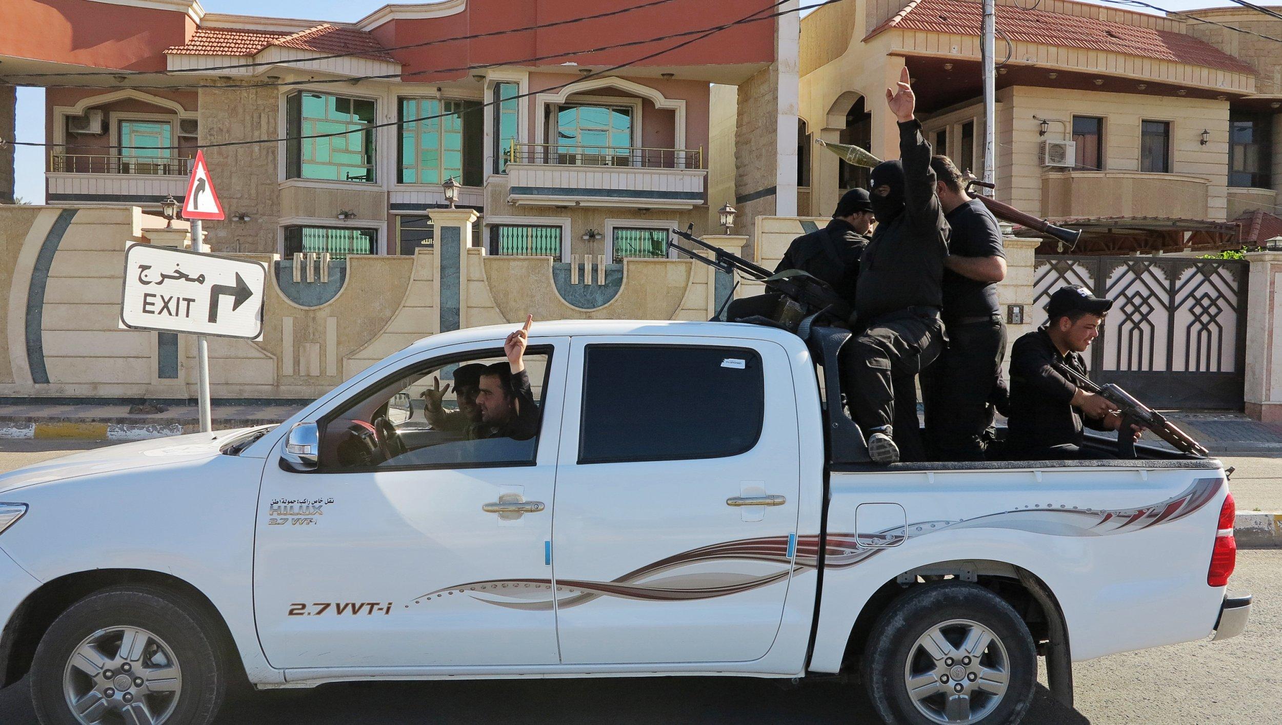 Ramadi ISIS Iraq Tikrit