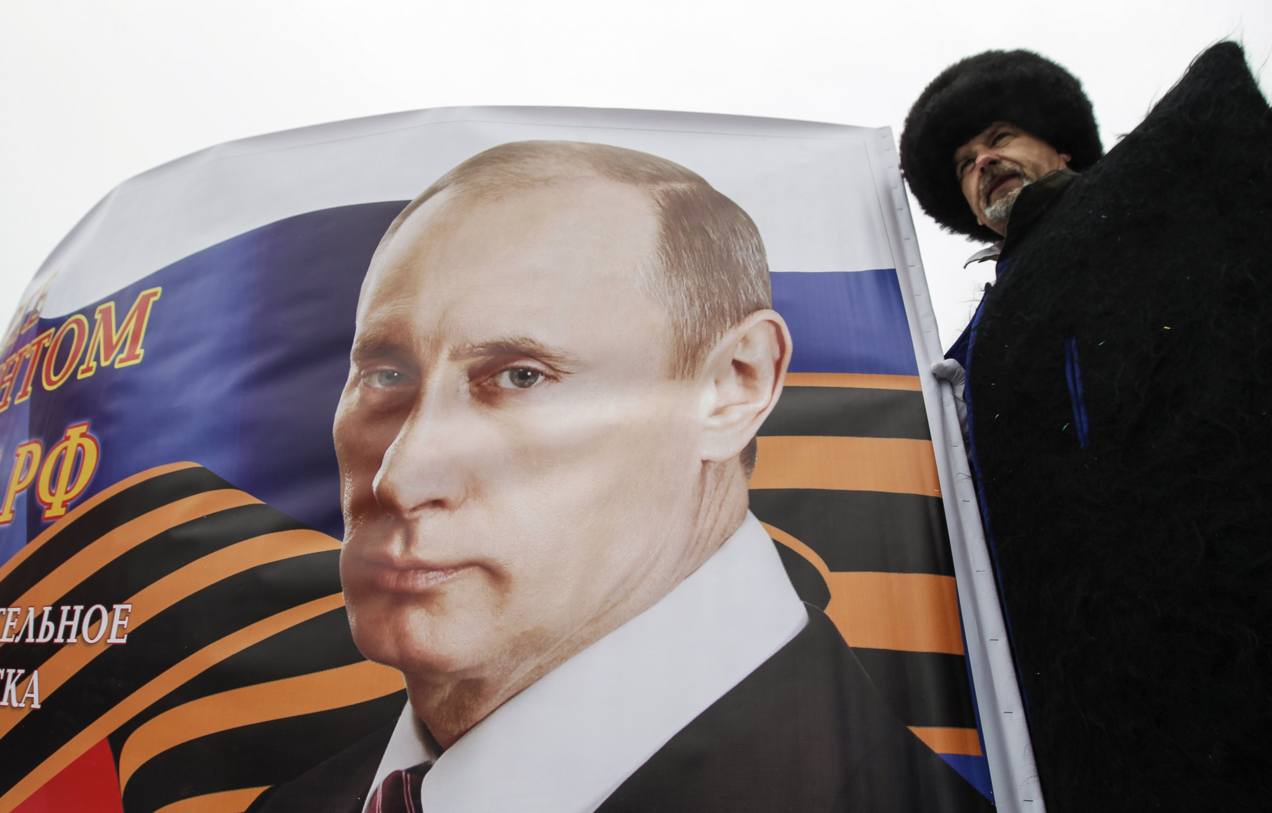 Cossacks in Moscow