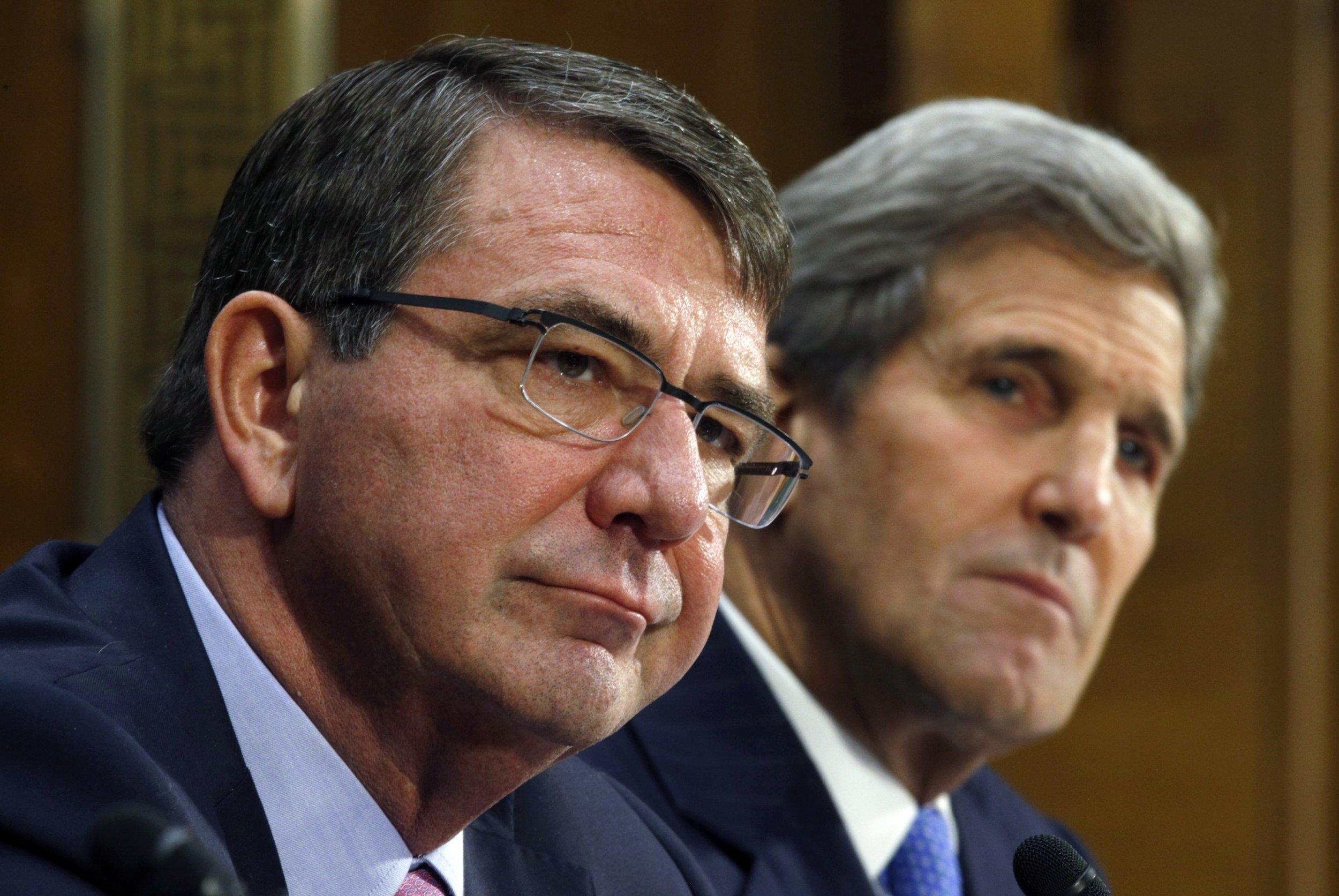 ISIS Carter Kerry Senate