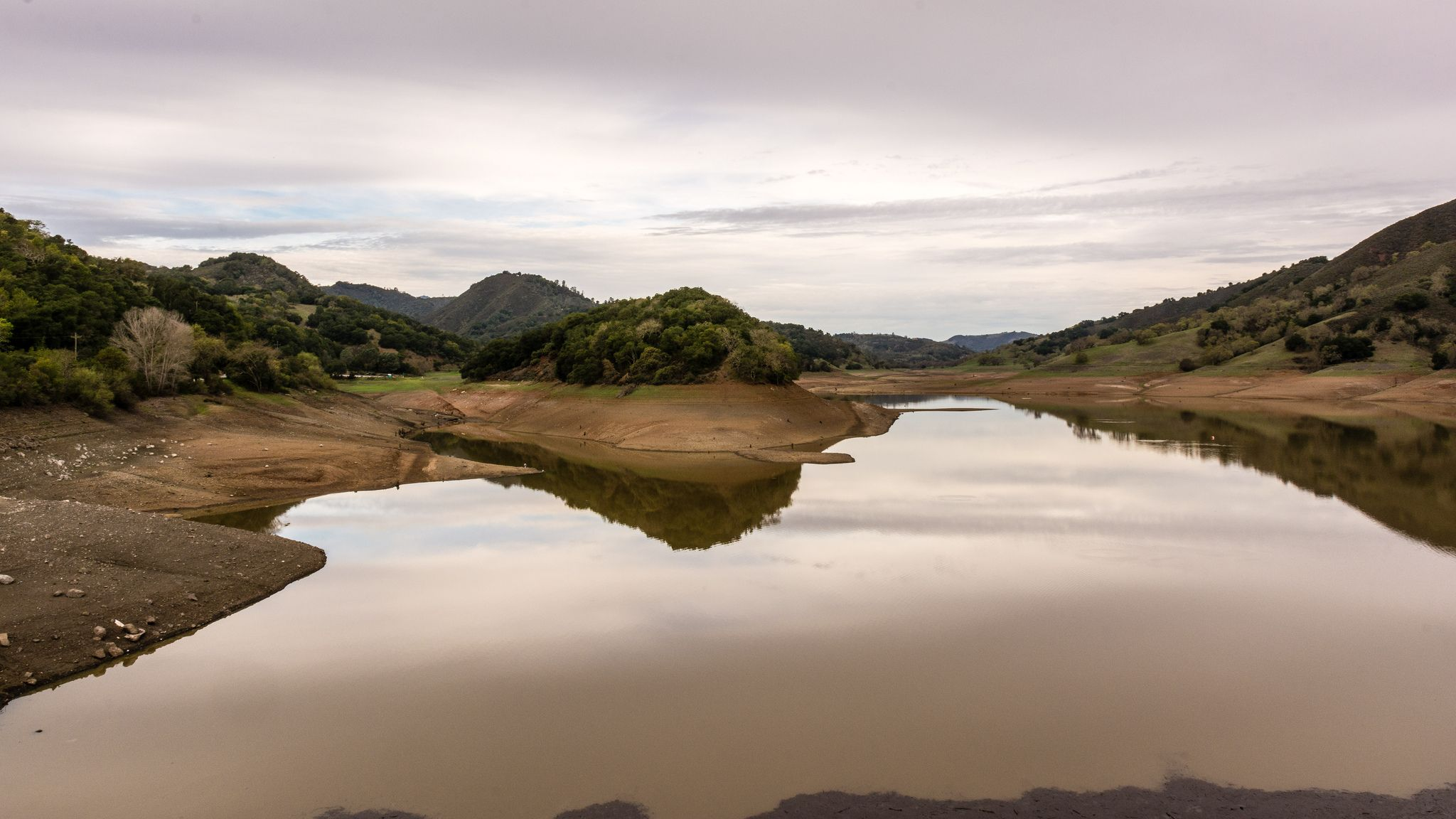 Uvas Reservoir, California Drought