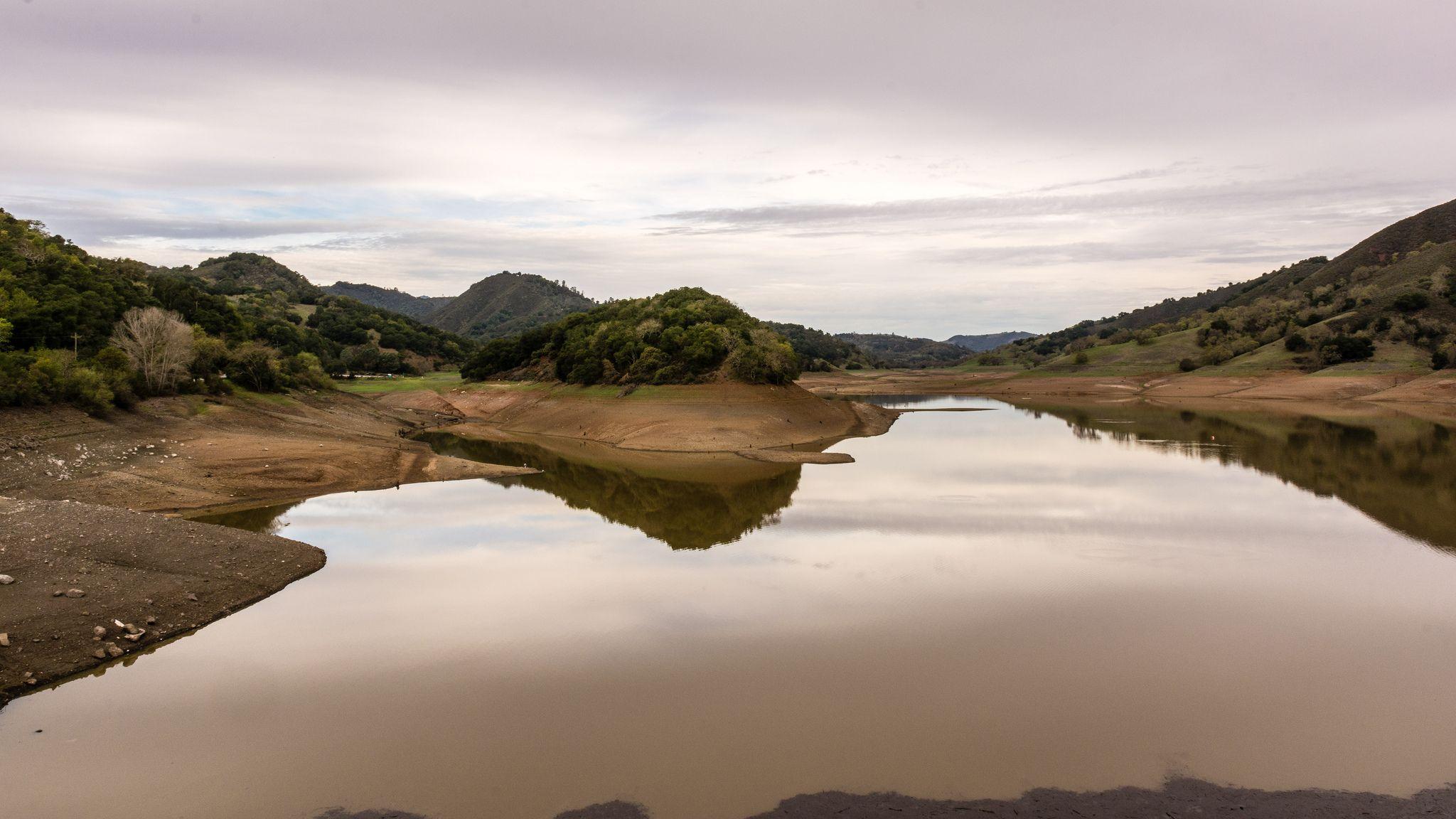 Uvas Reservoir, California Drought