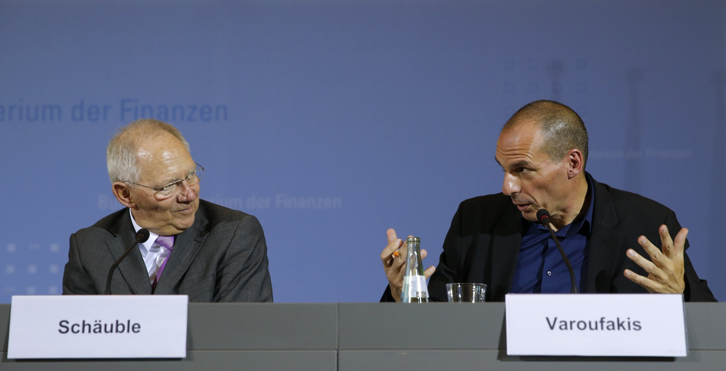 Varoufakis and Schaeuble