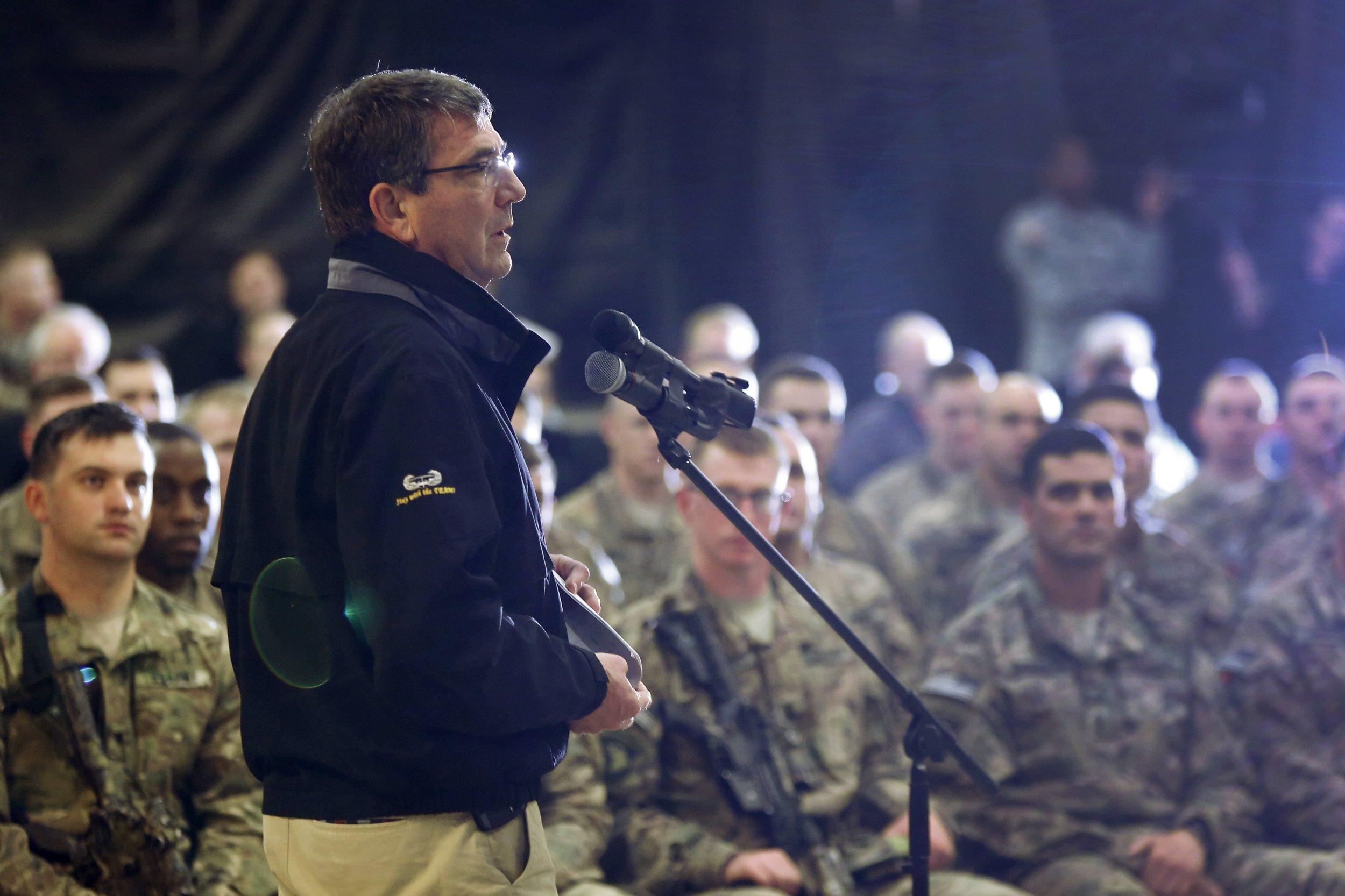 Ash Carter Afghanistan
