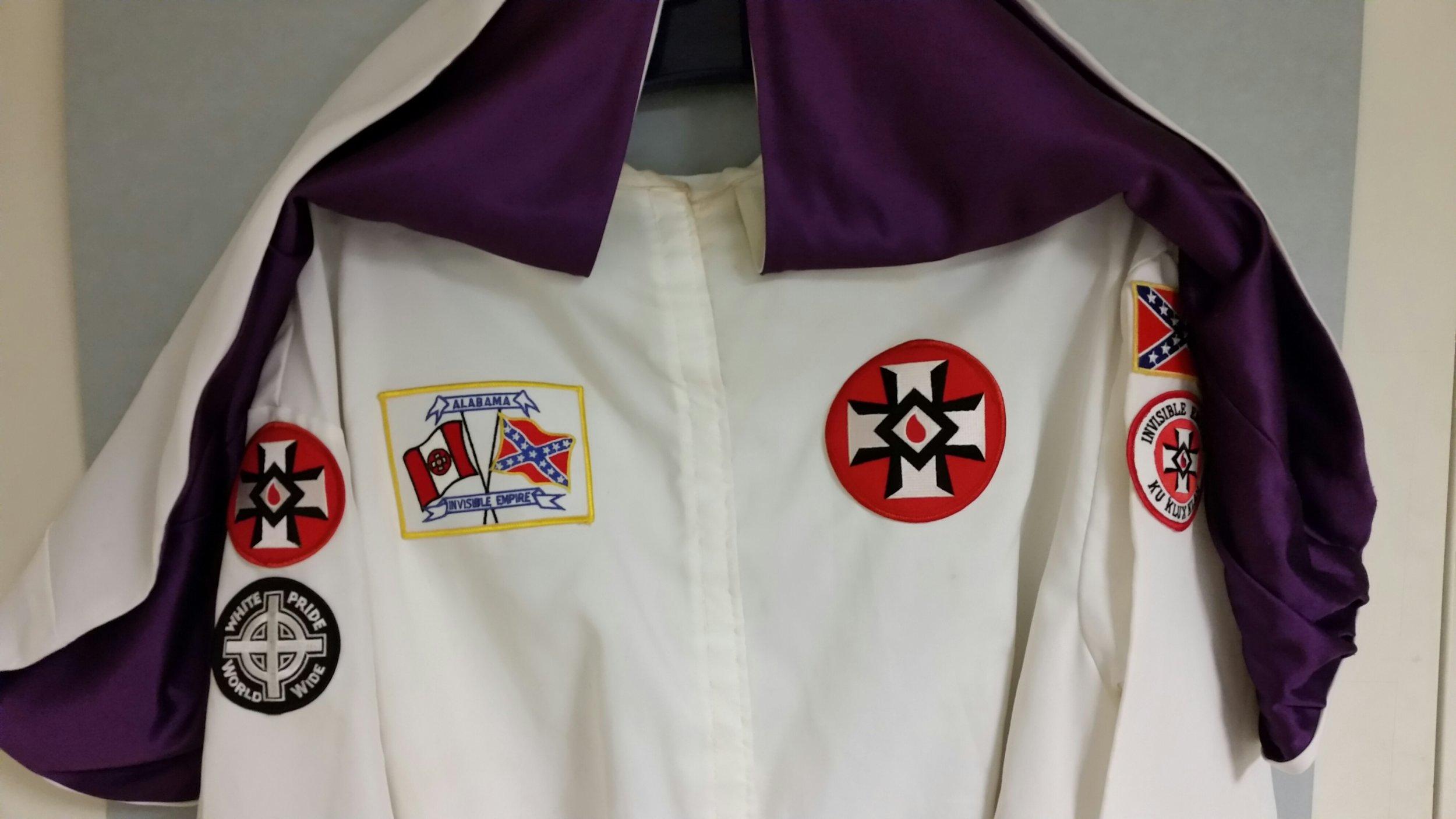 KKK ceremonial robe