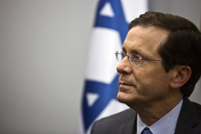 Israel Election Herzog Netanyahu