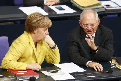 Merkel Schaeuble