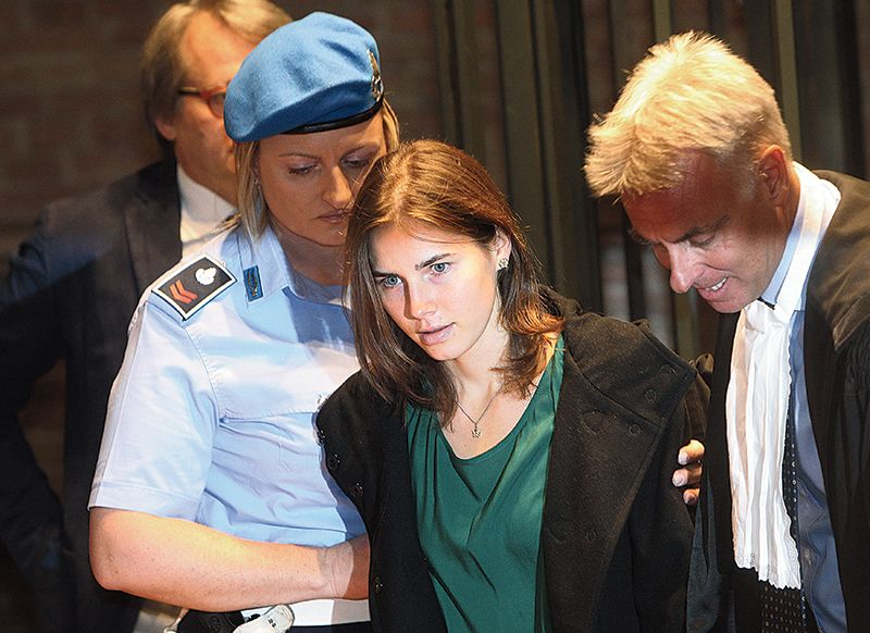 Will amanda knox be dragged back to italy in murder case in 2011 knox arrived at court for her appeal trial session in perugia after she was sentenced to a 26 year prison term for the murder of her british ccuart Gallery