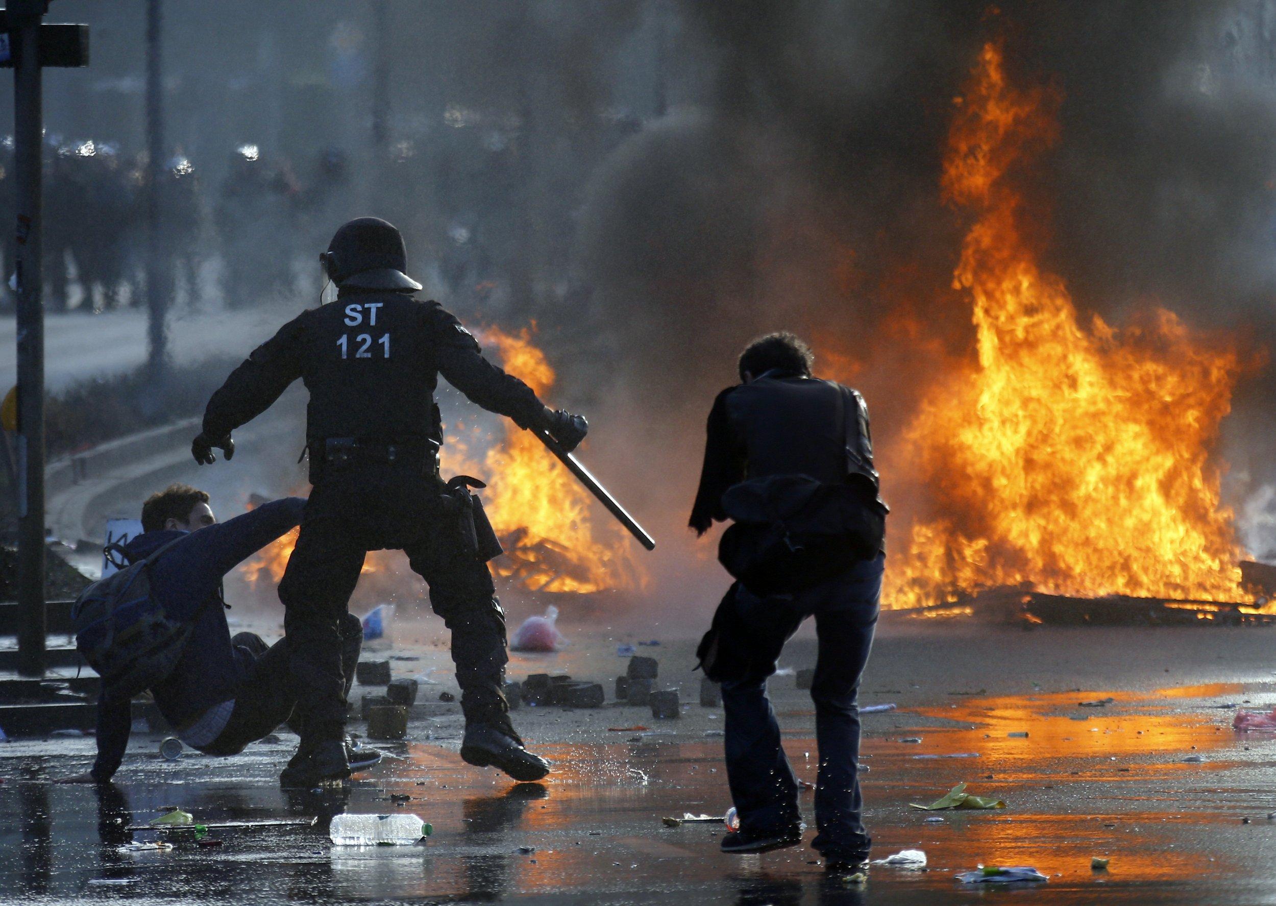 Blockupy Protest