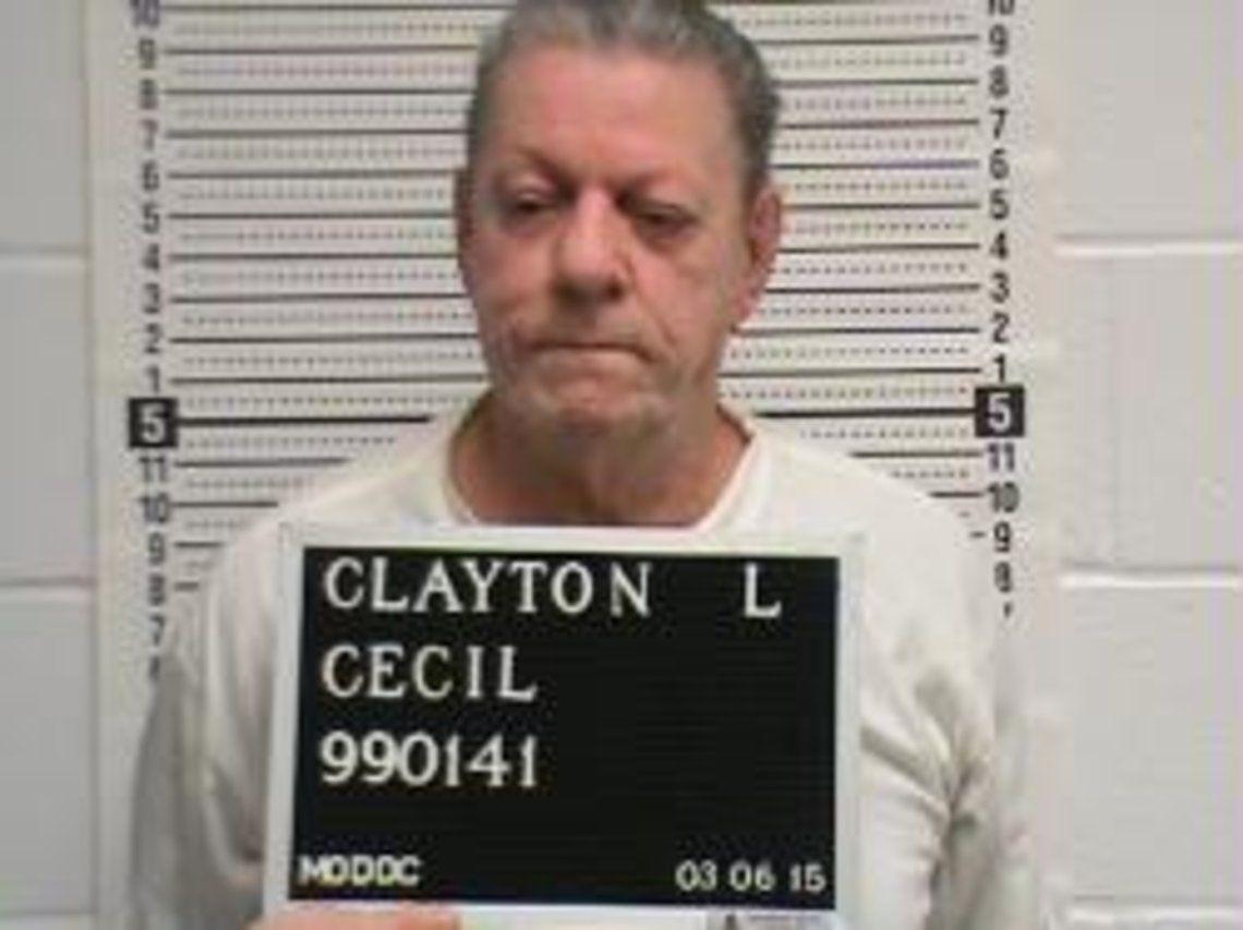 Cecil Clayton Mugshot