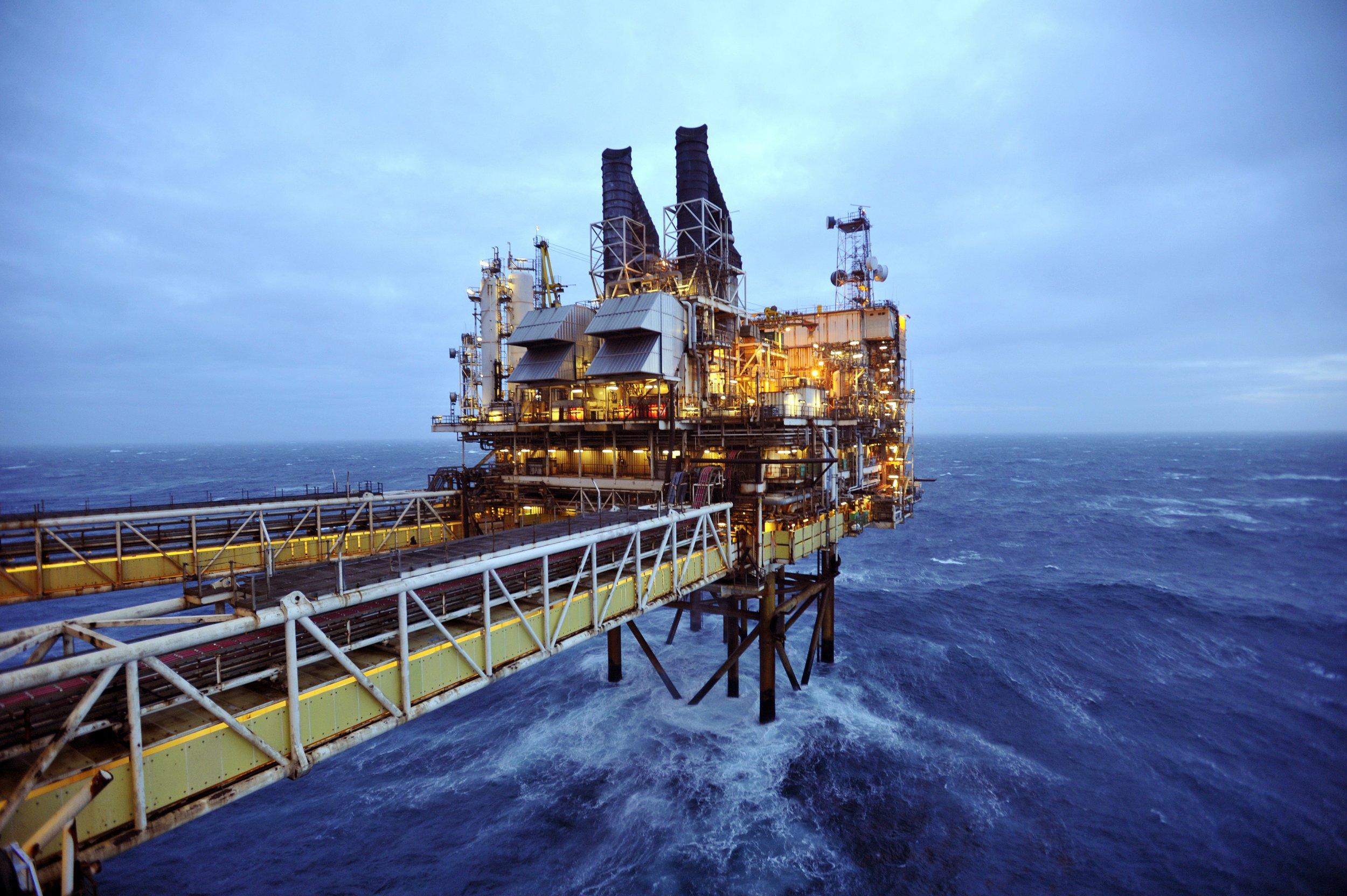 North Sea oil