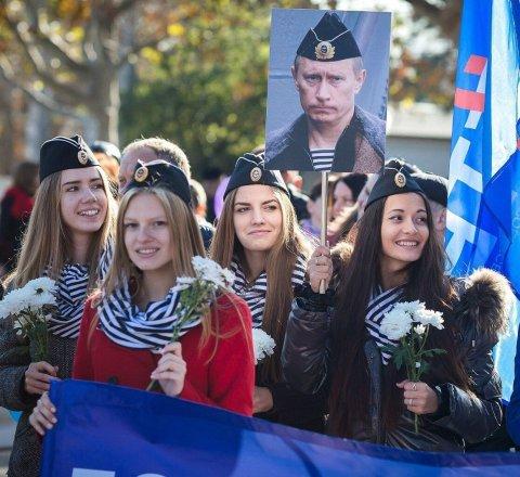 Putin fan club