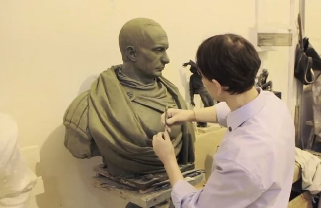 Bronze Bust of Putin as Roman Emperor to Be Unveiled