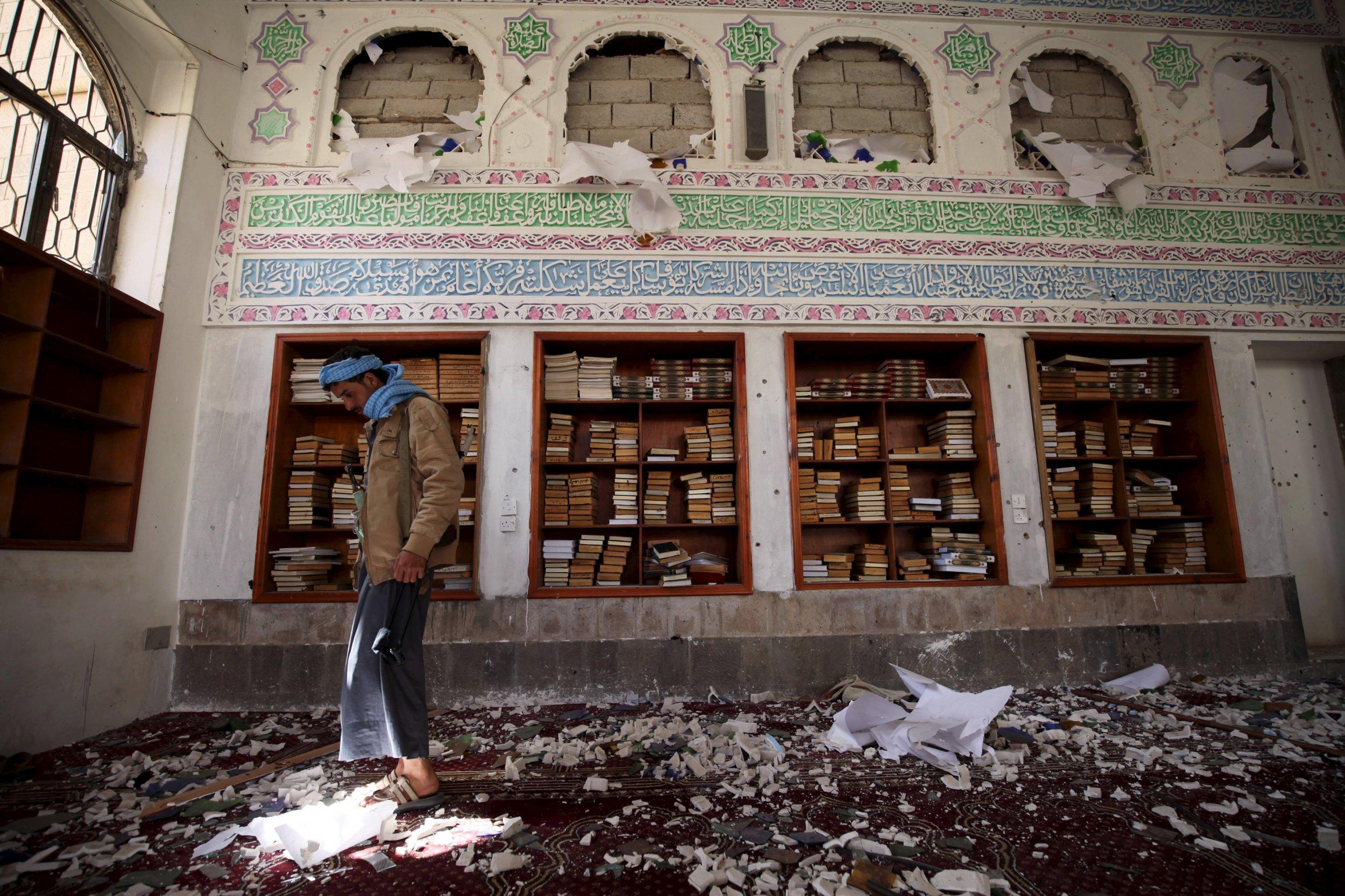 Sanaa bombing