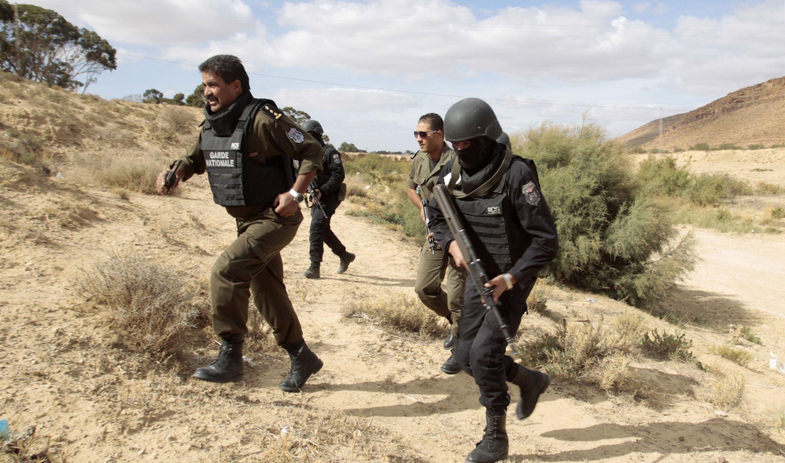 Tunisia Algeria Jebel Chaambi North Africa Al Qaeda Kasserine Tunis