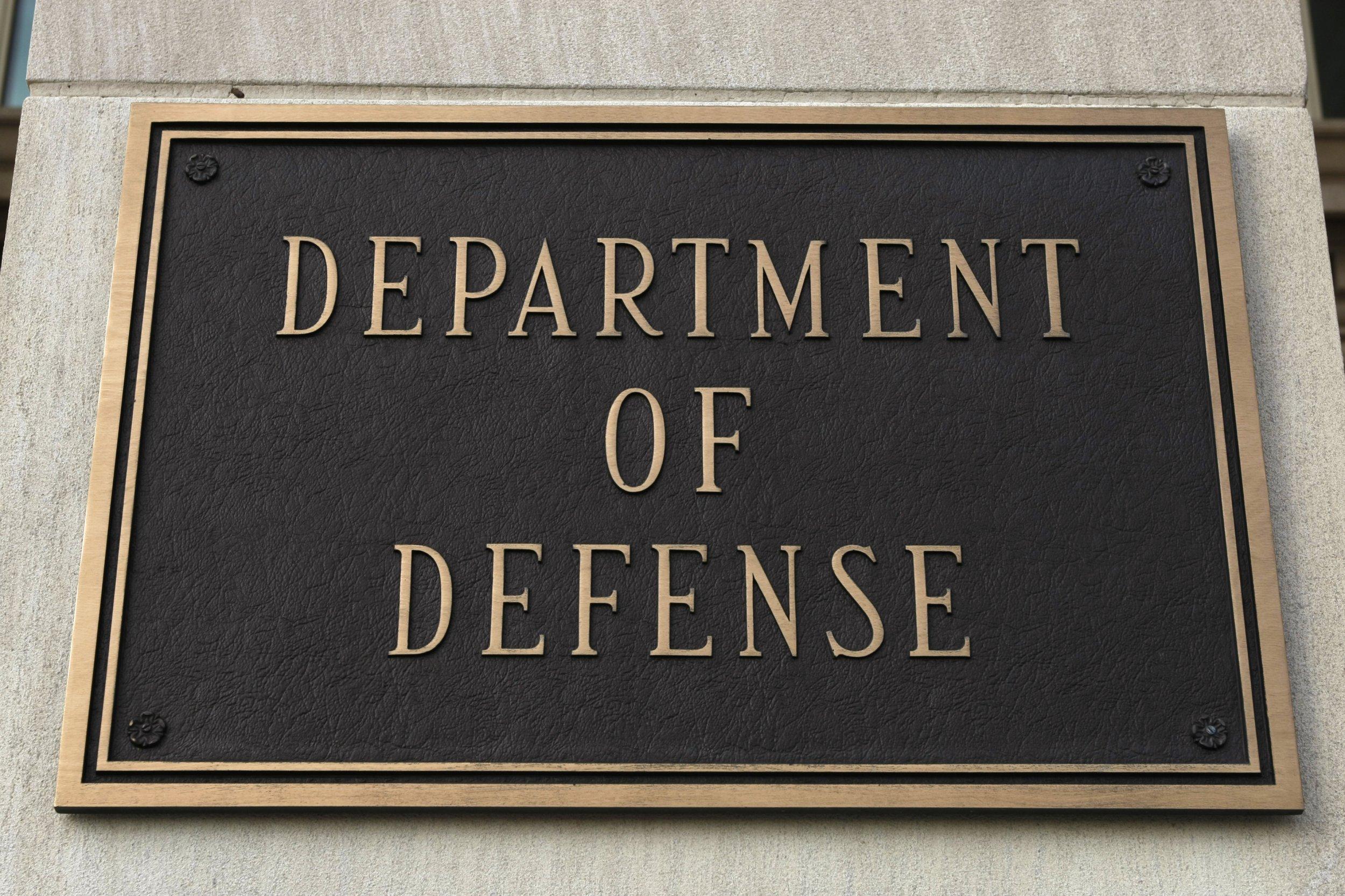 Pentagon sign