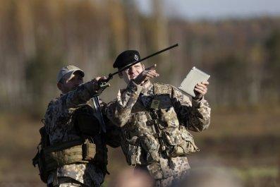 Latvian army