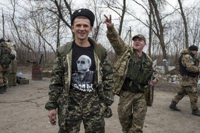 Pro-Russian rebel