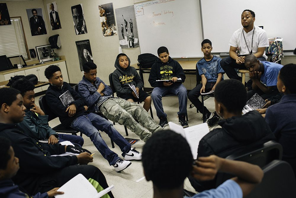 Fighting To Reclaim The Future Of Oakland S Young Black Men
