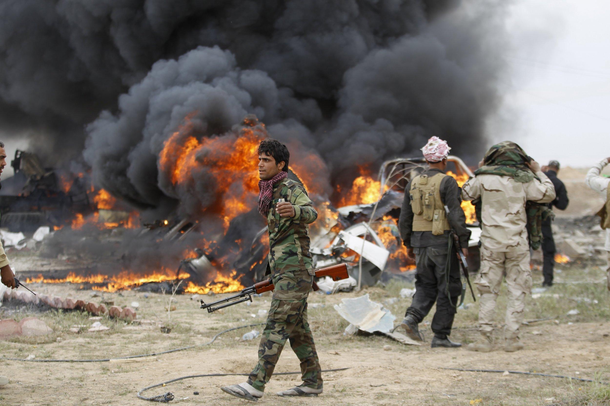 Tikrit ISIS Iraq US