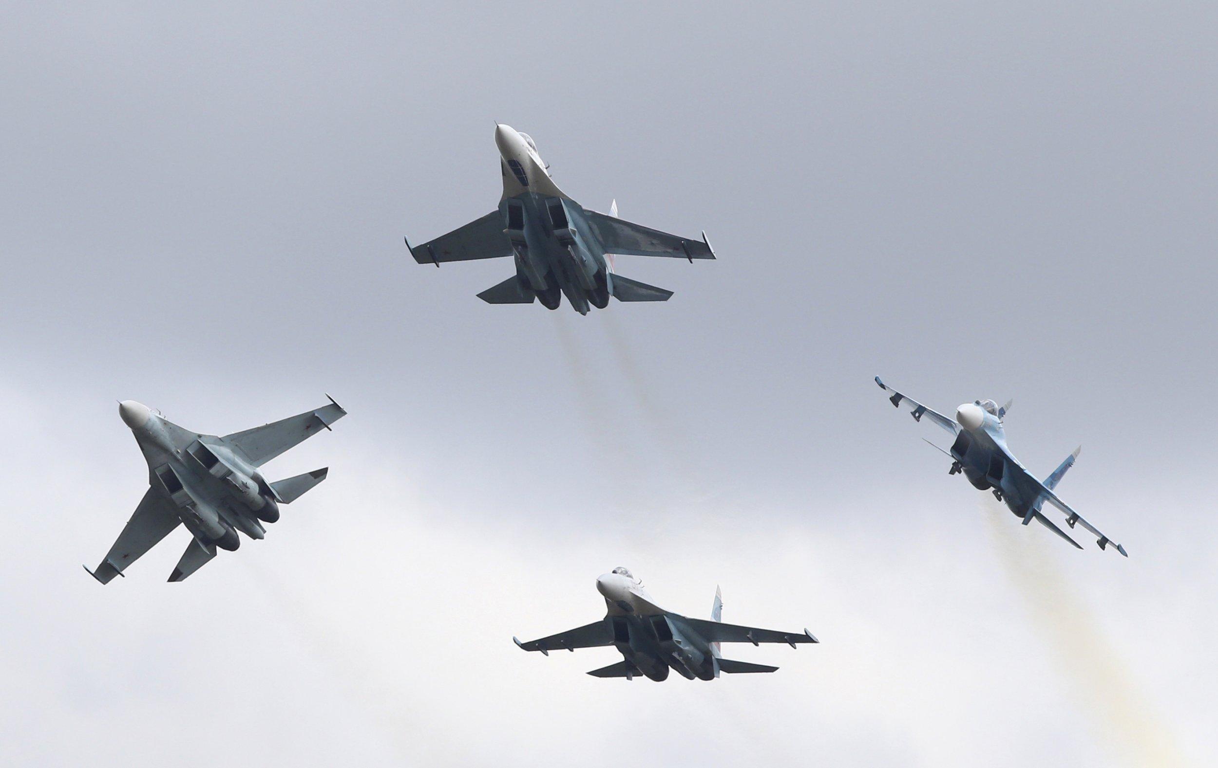 Blue Fighter Jets Rtxzj