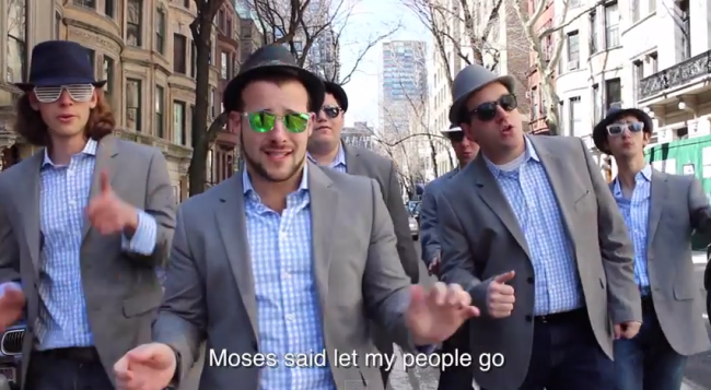 Jewish A Capella Group Releases Passover Parody of 'Uptown Funk'