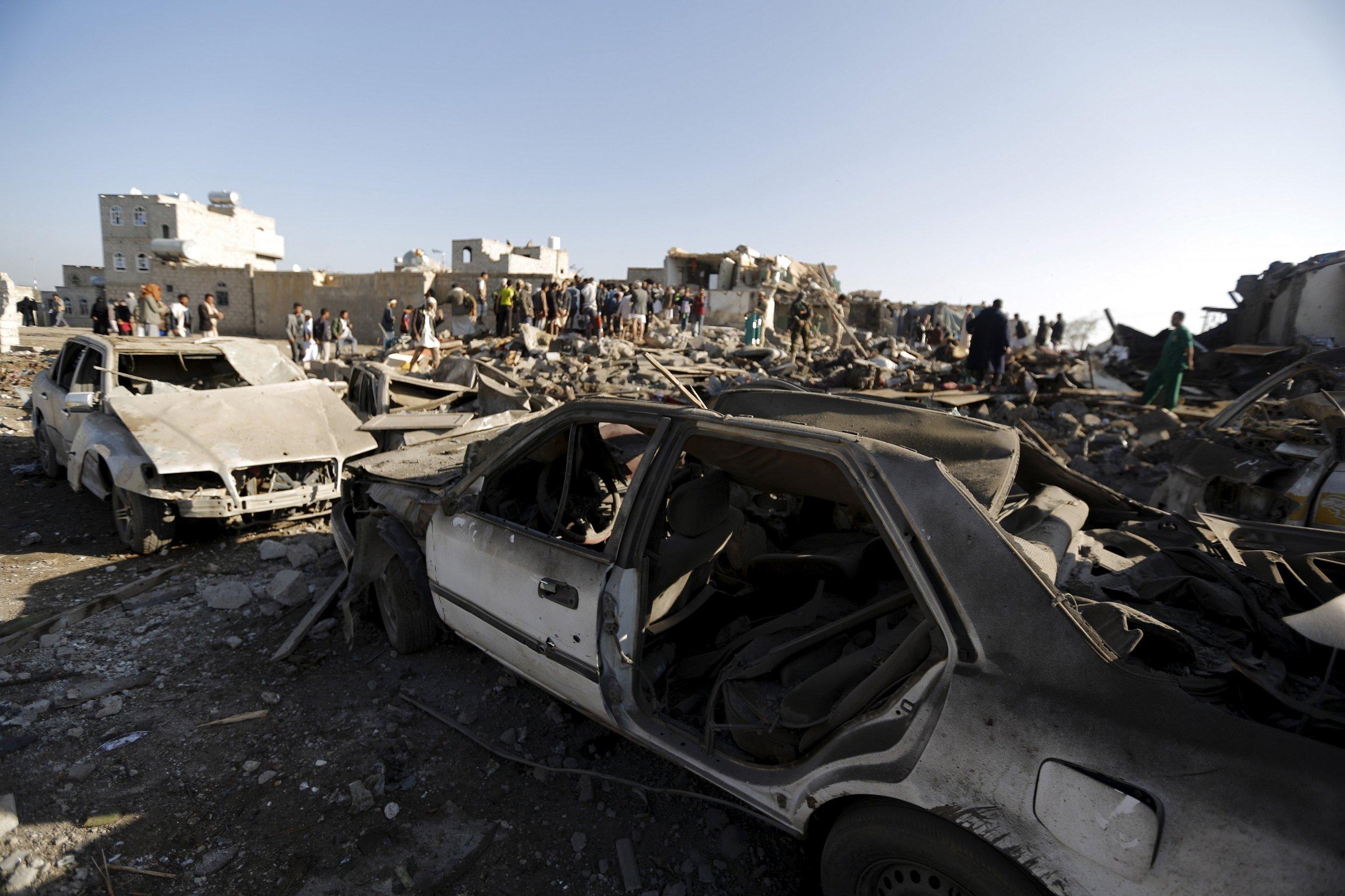Yemen Sanaa Middle East Gulf US Saudi