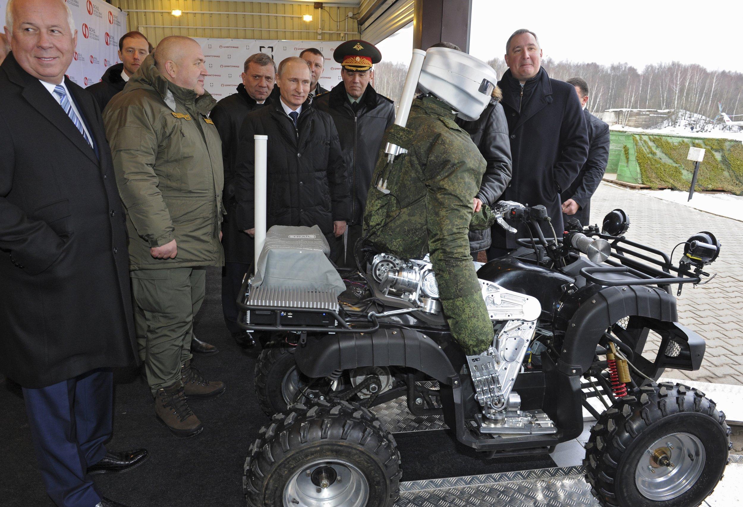 Putin robot