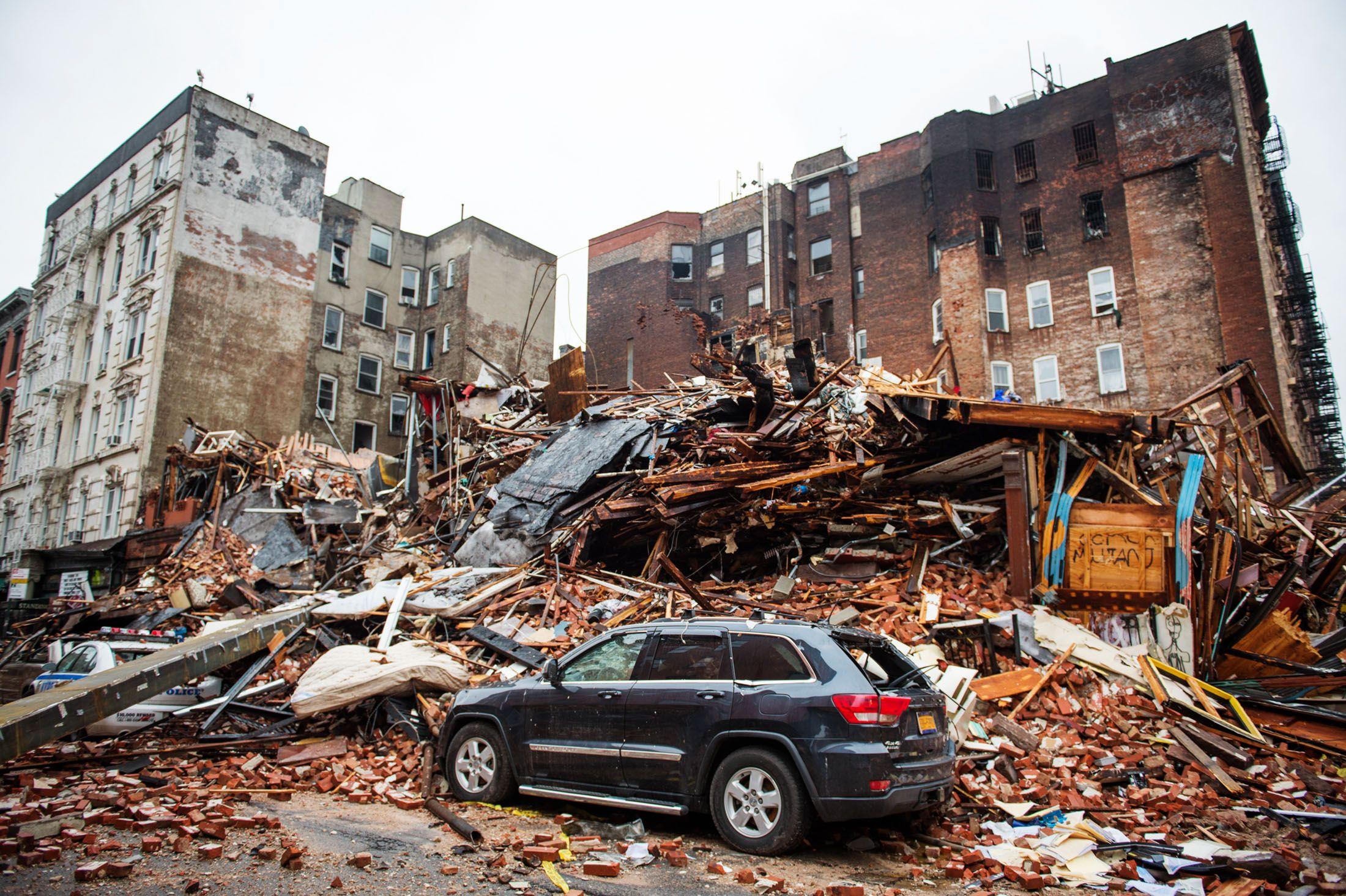 Who Do You Sue When Your Building Explodes?