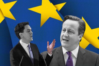 Miliband Cameron
