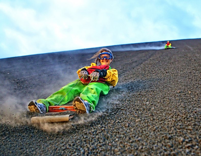 Nicaragua dust boarding