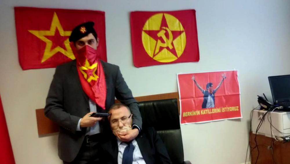 Turkish hostage