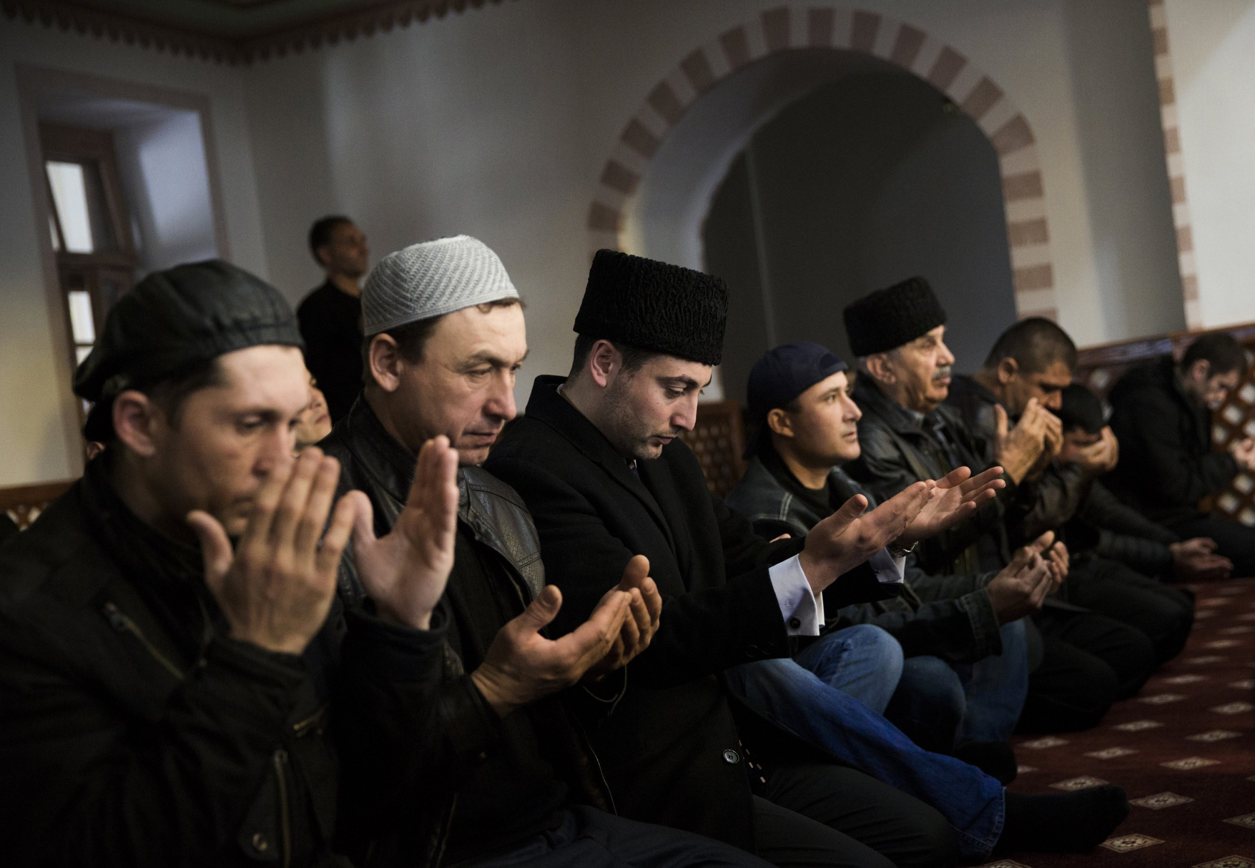 russia muslim 7500 mosques have been erected in russia since putin became president  the head of the central muslim spiritual directorate.