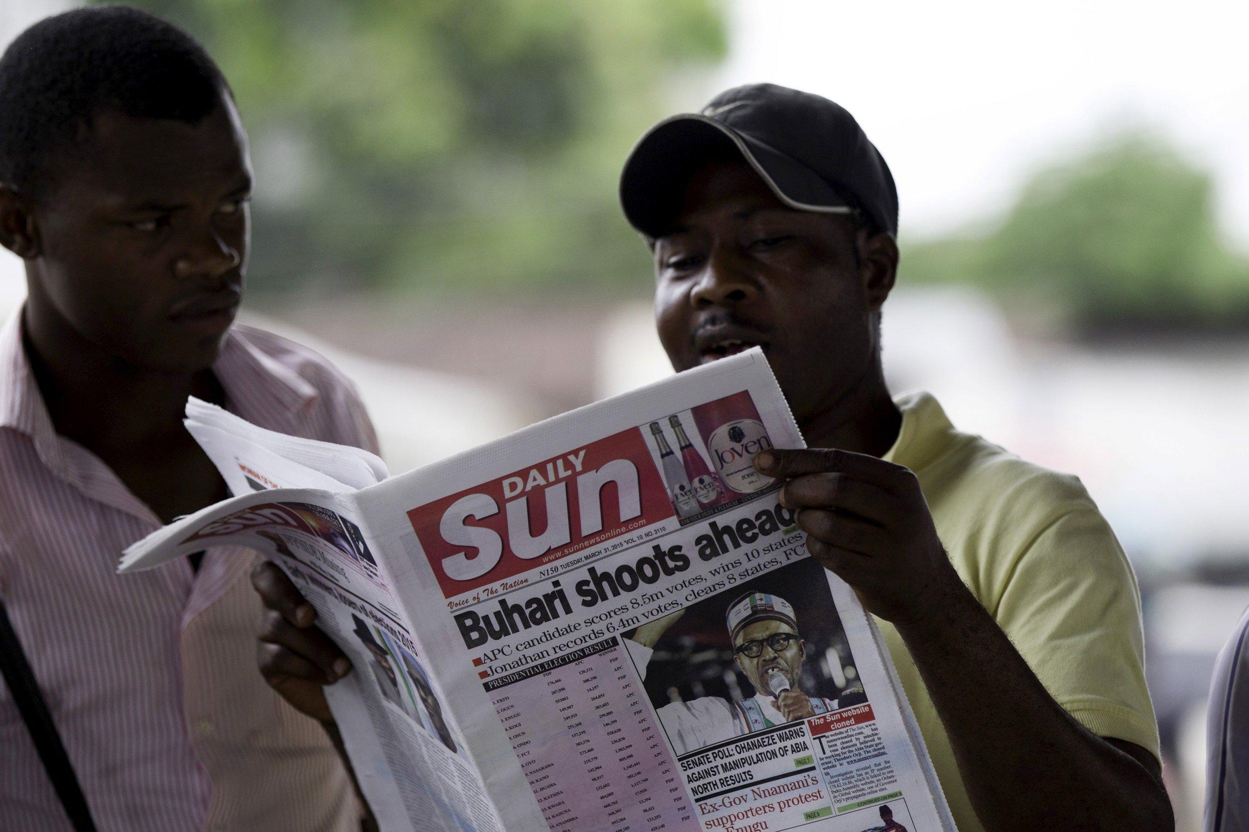 Nigeria Buhari Election