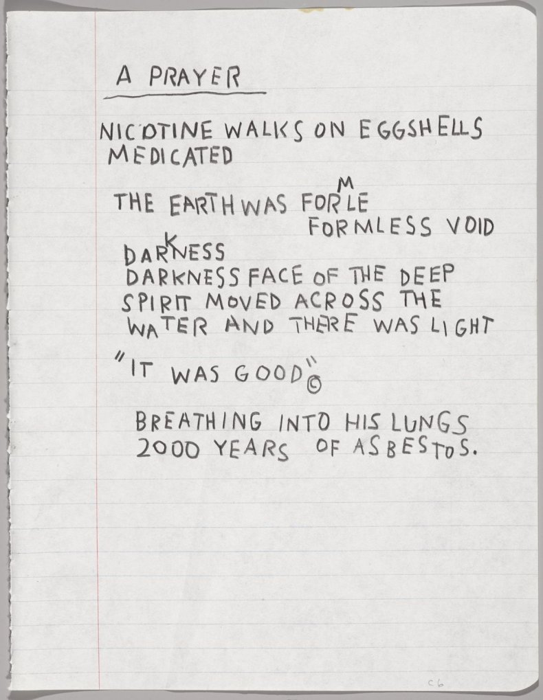 Basquiat Notebook 3