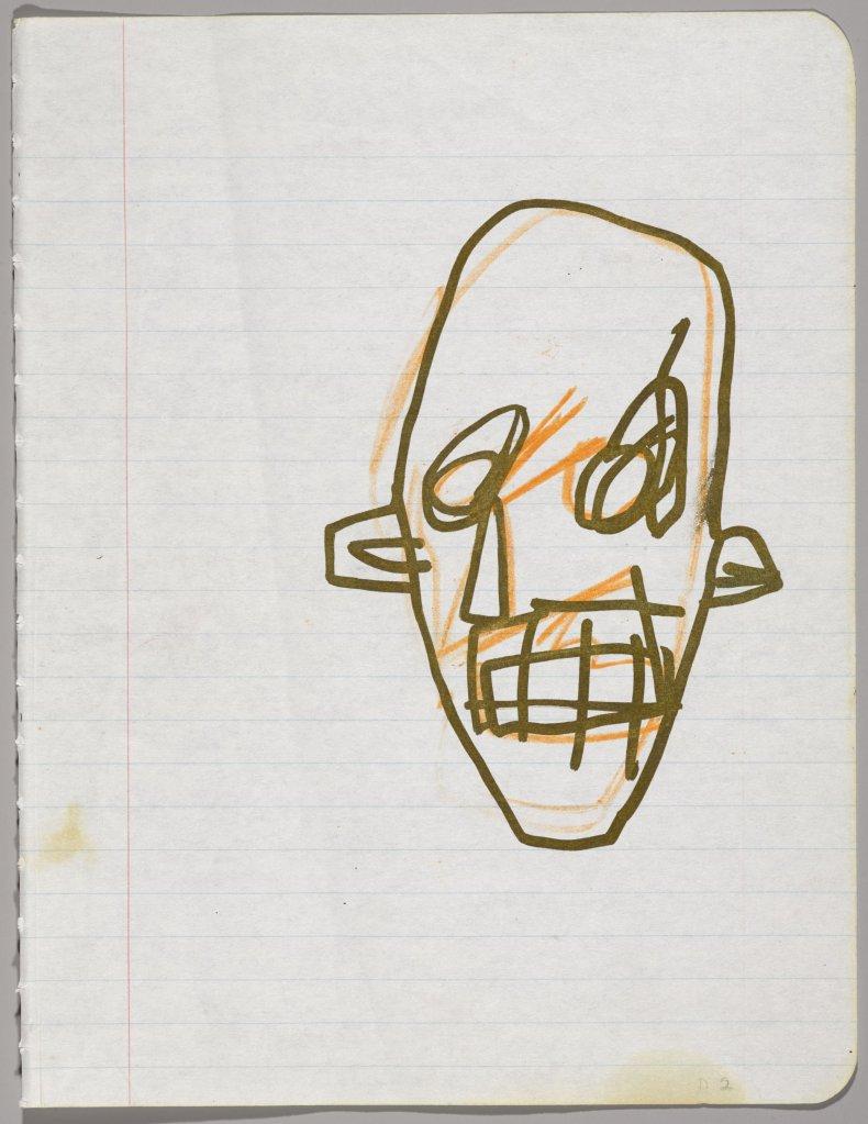 Basquiat Notebook 4