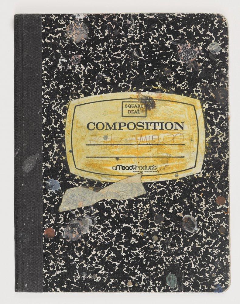 Basquiat Notebook