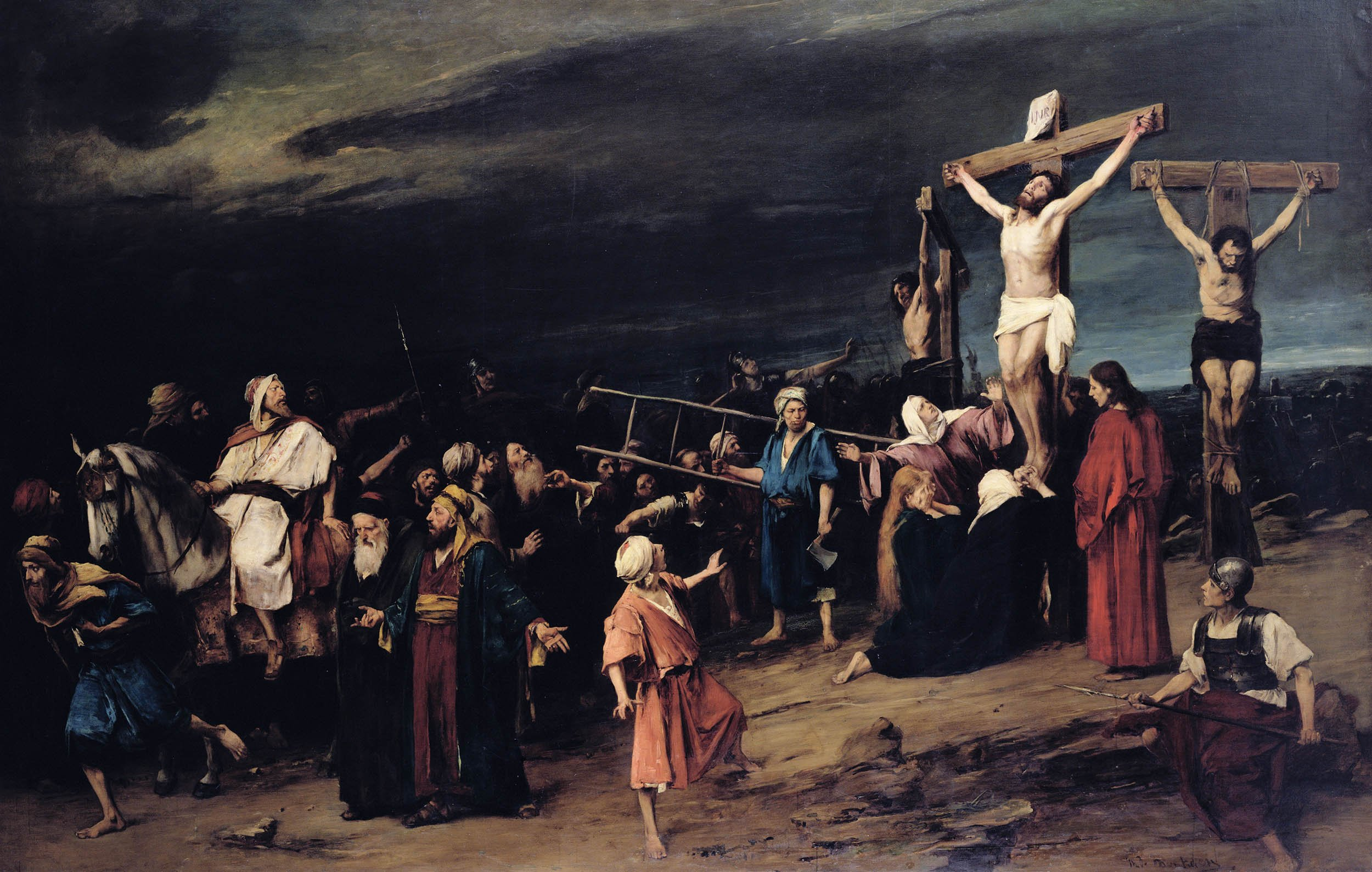 How the Romans Used Crucifixion—Including Jesus's—as a Political Weapon