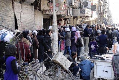 Yarmouk Syria ISIS