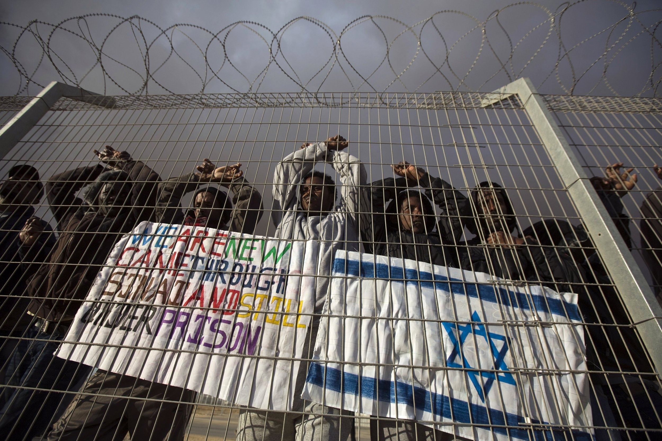 Holot Israel IDF Africa Migrants Refugees