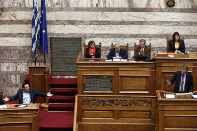 Samaras and Tsipras