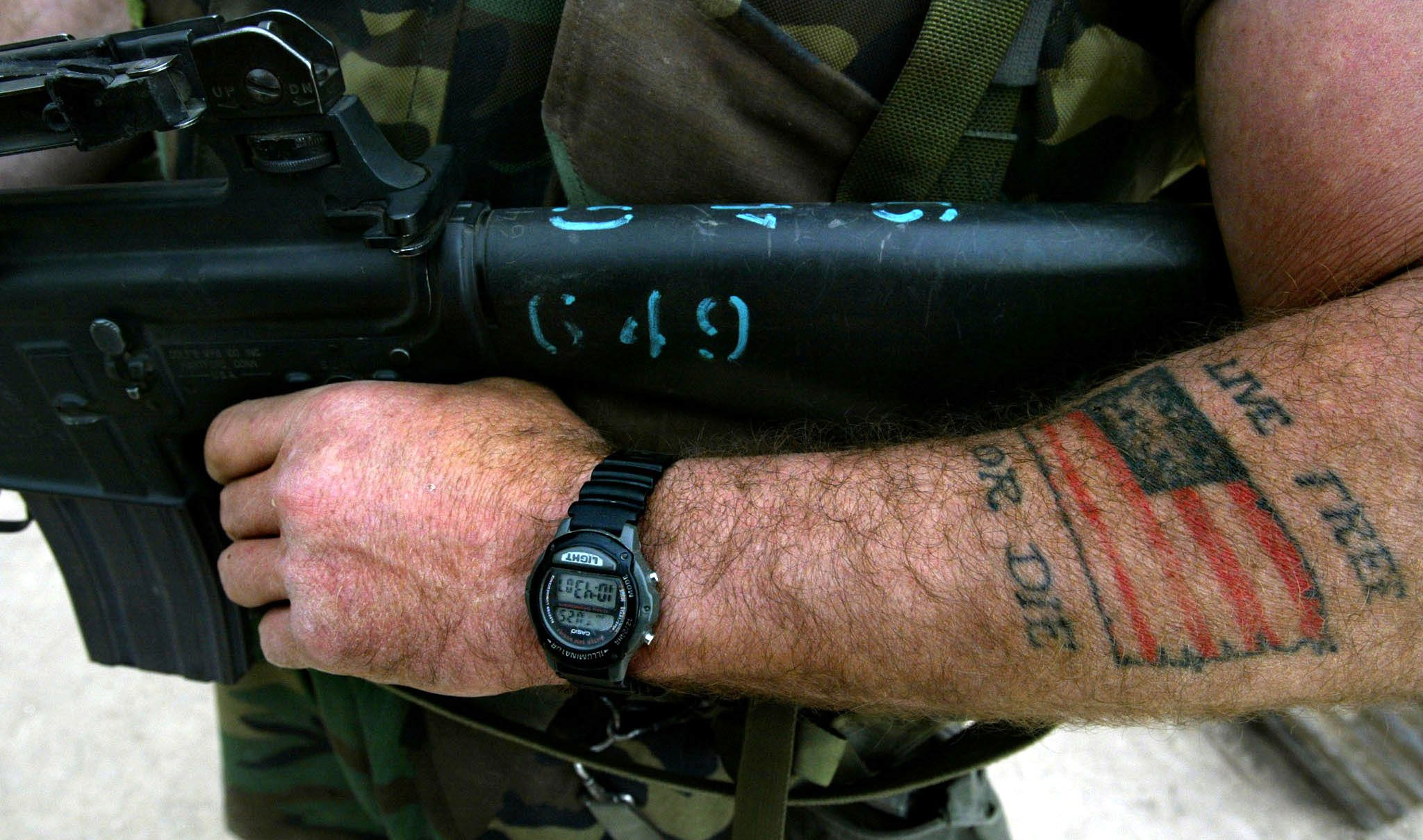 inked u s army loosens tattoo policy