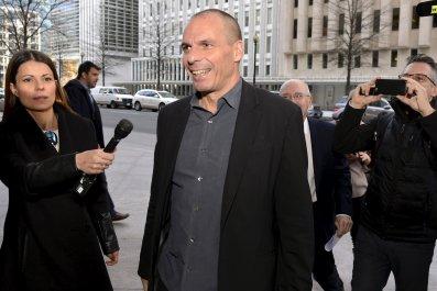 Varoufakis at IMF