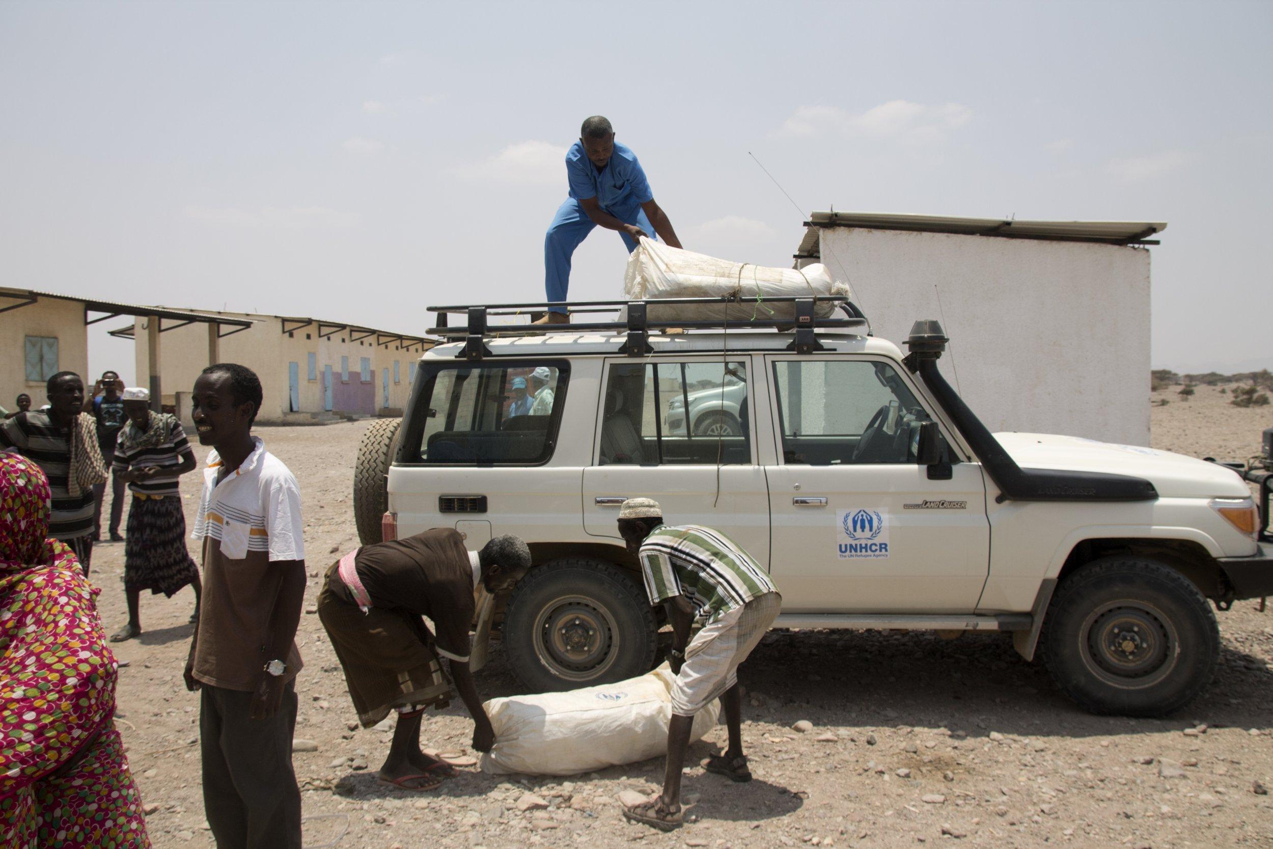 Preparation, Refugee Camp, Oulma, Djibouti