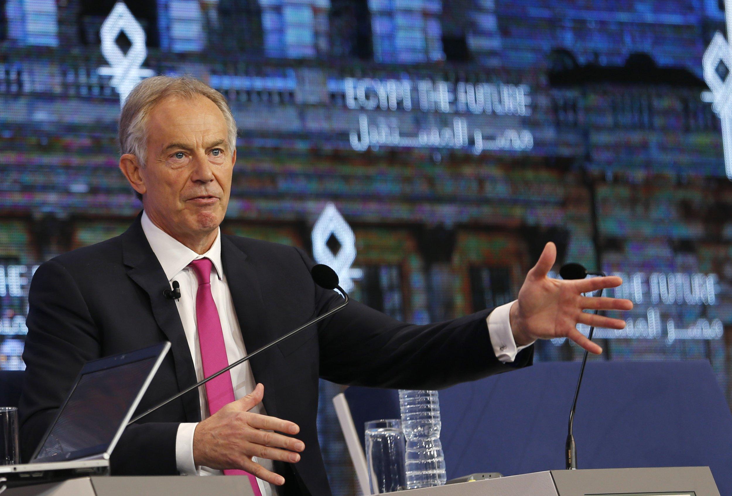 Blair Egypt