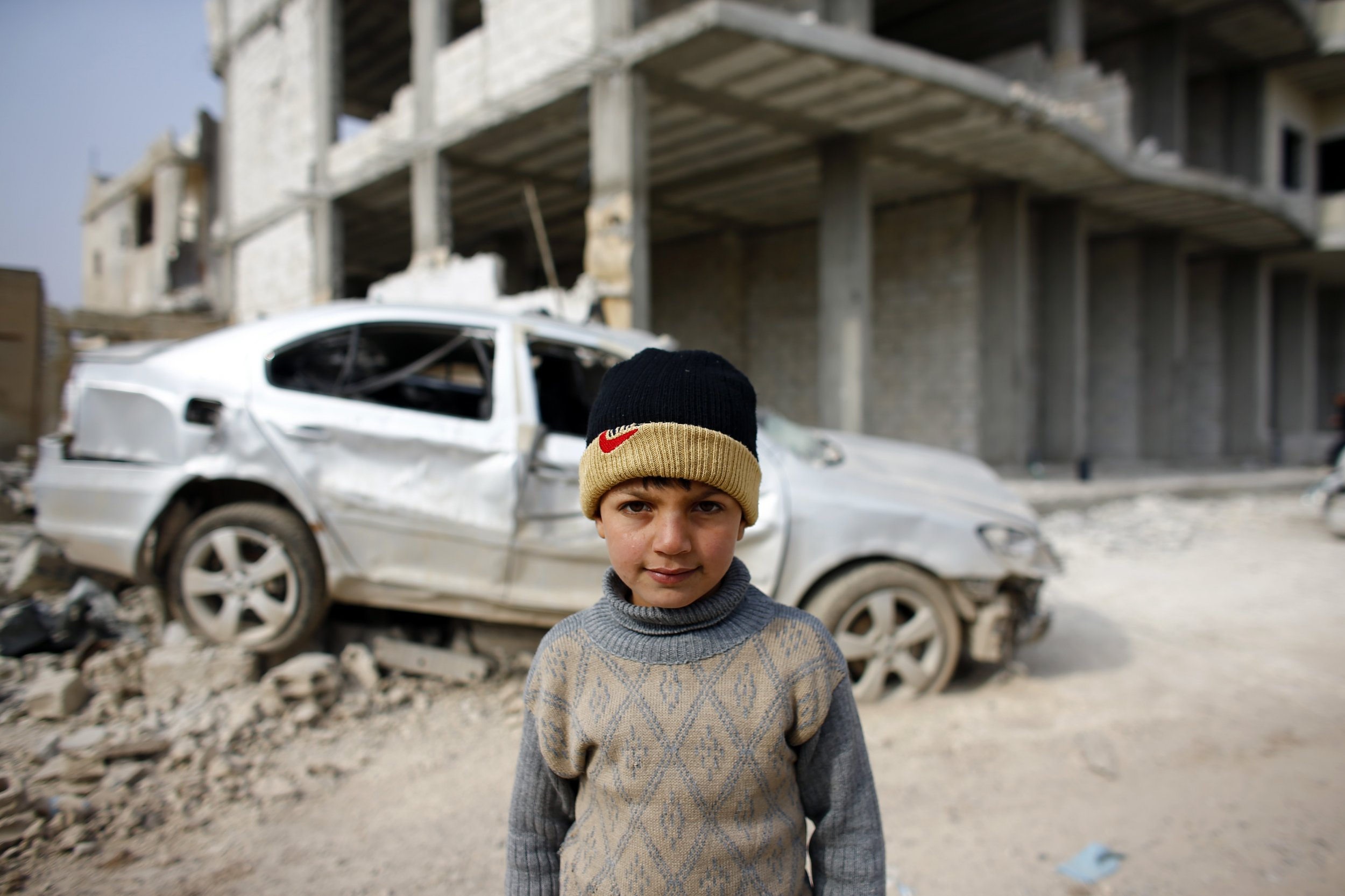 Kobane child