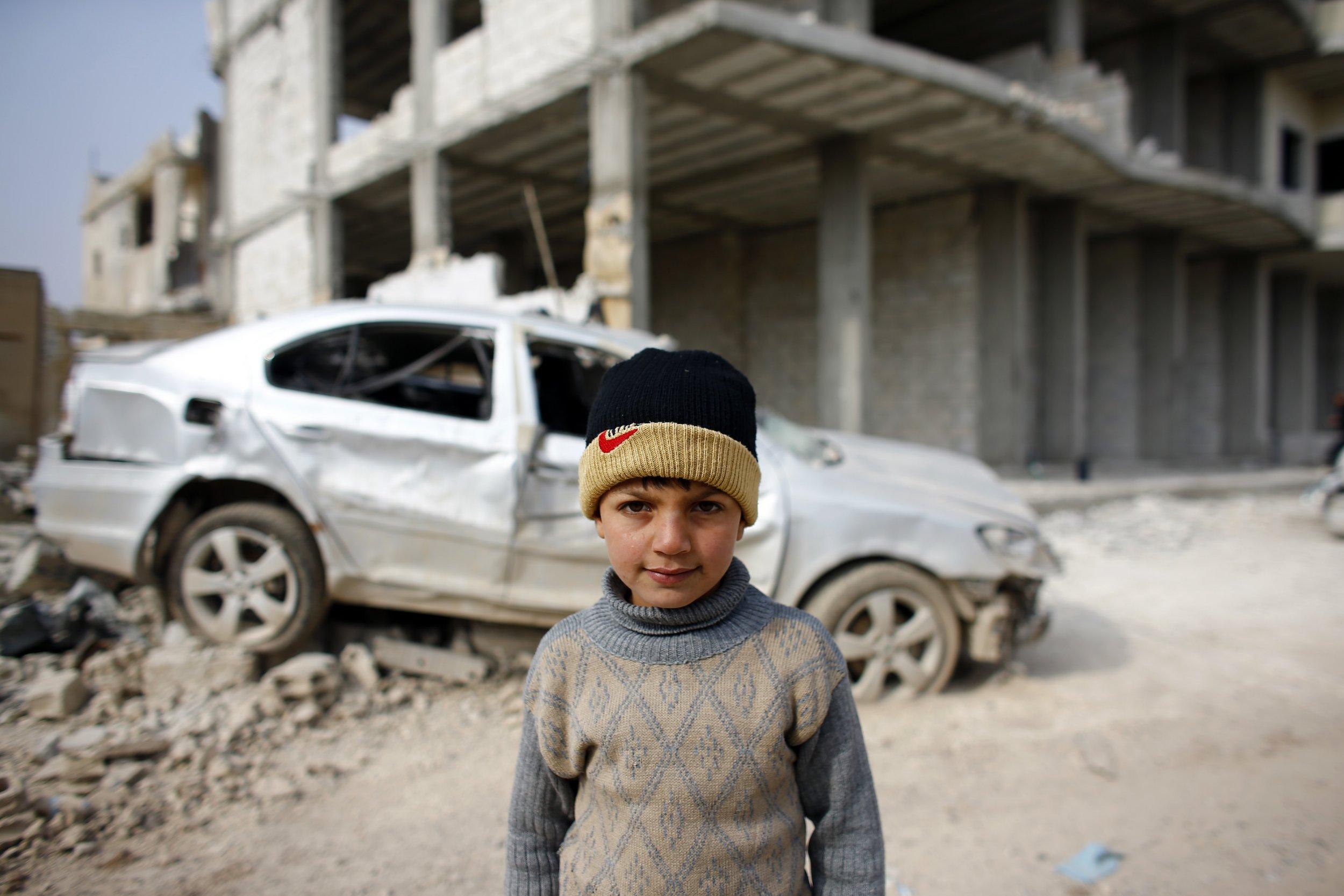 Kobane child