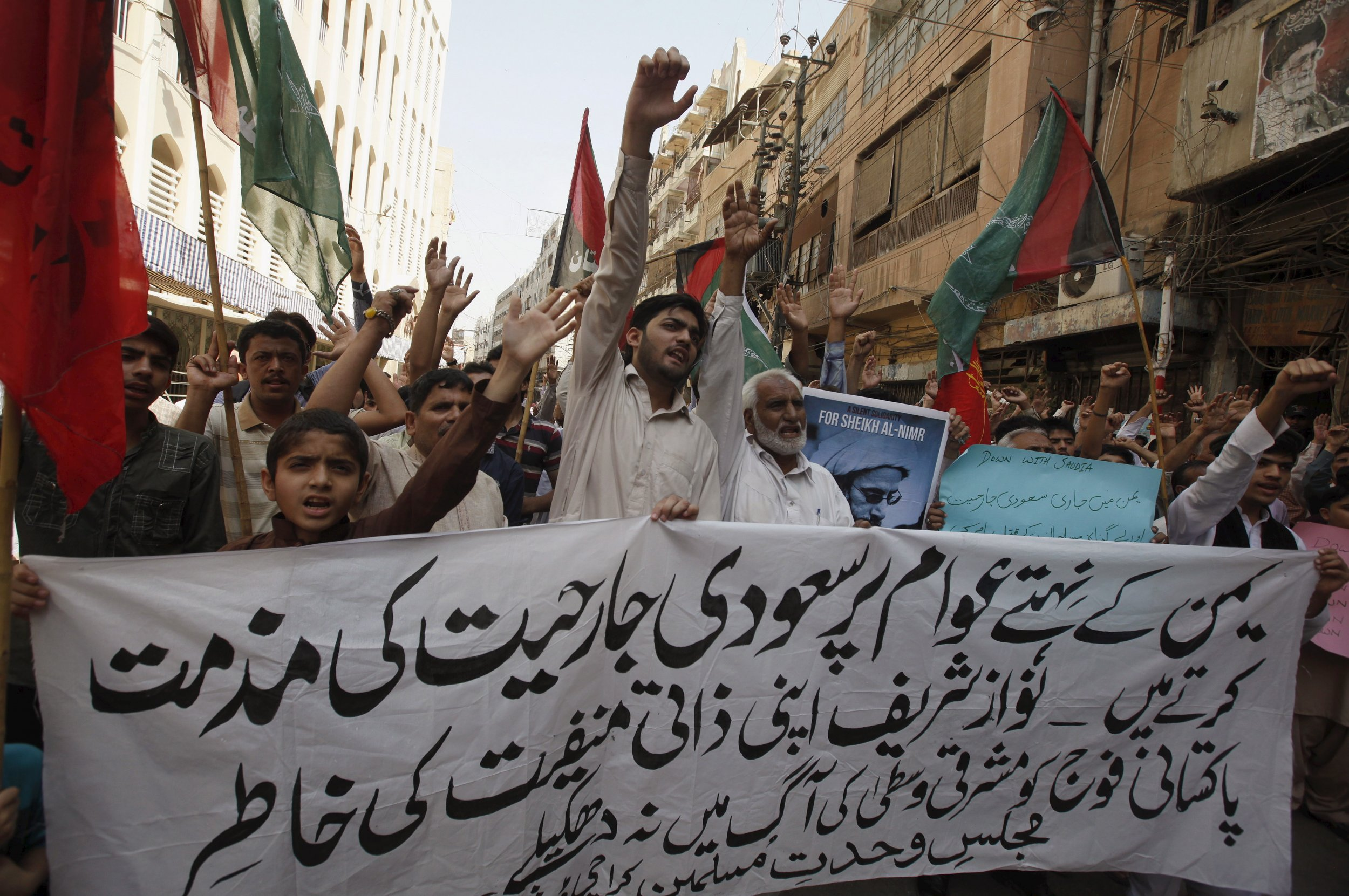 Shia demonstration Karachi