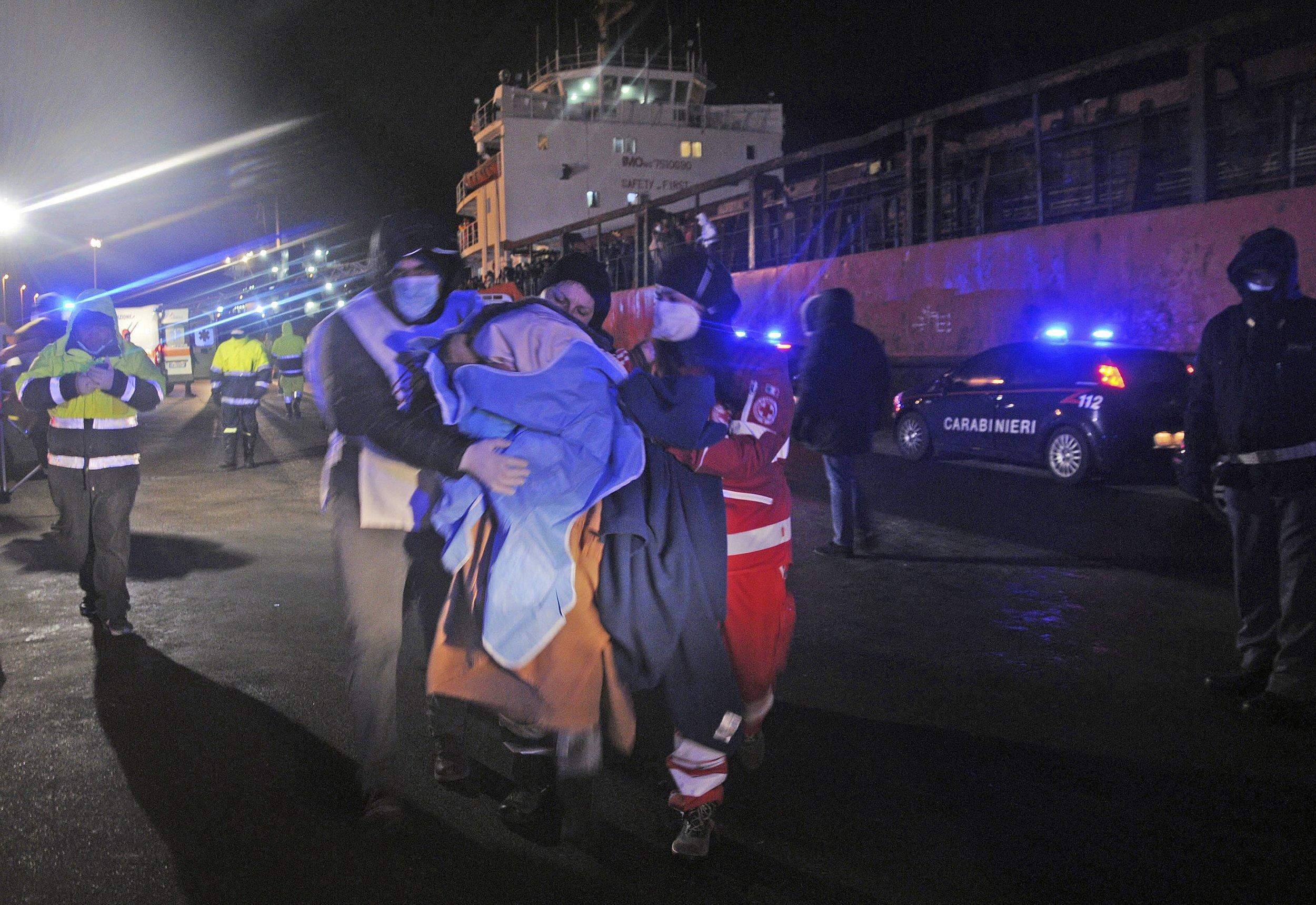 Greek Illegal Migrants