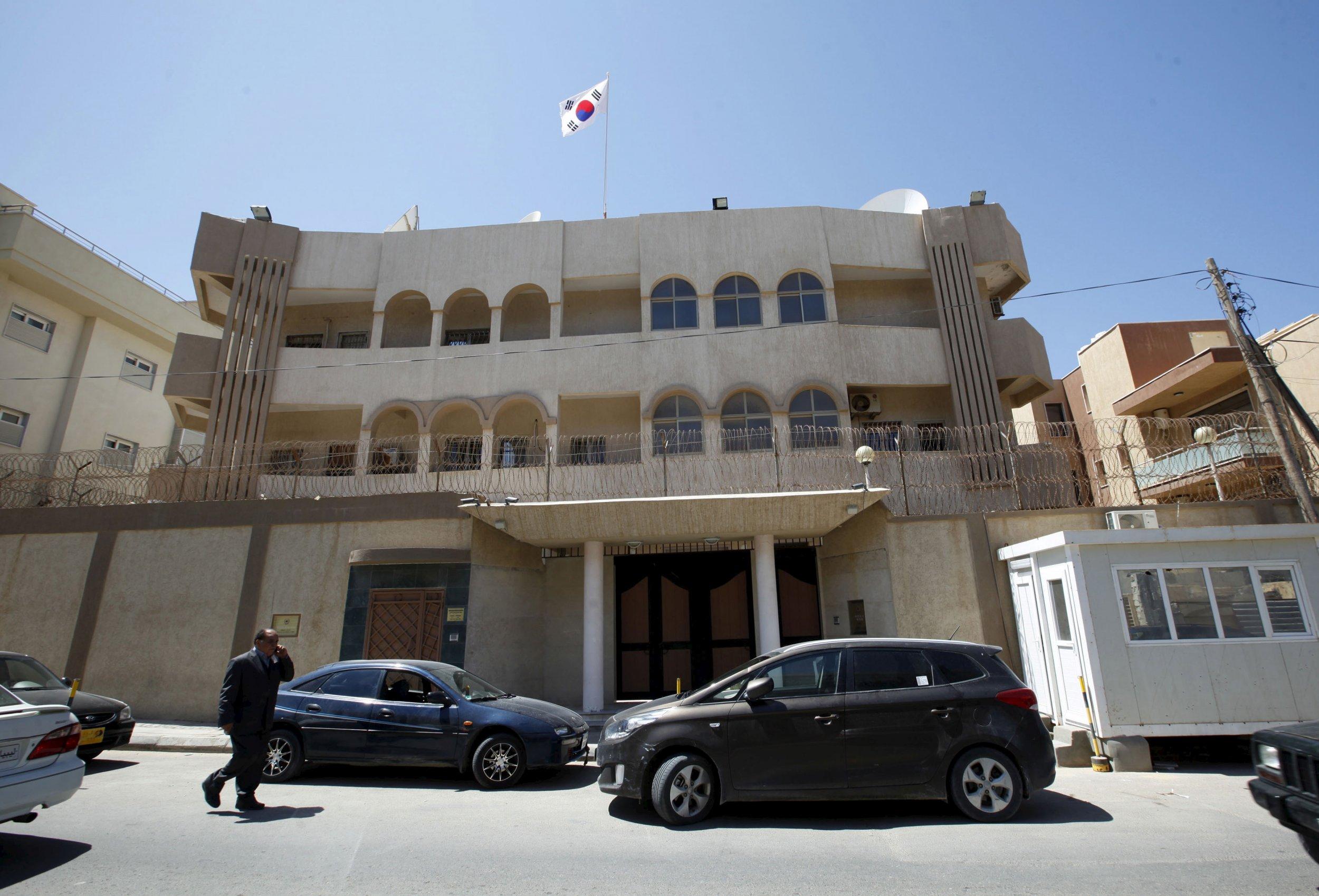 South Korean embassy, Tripoli