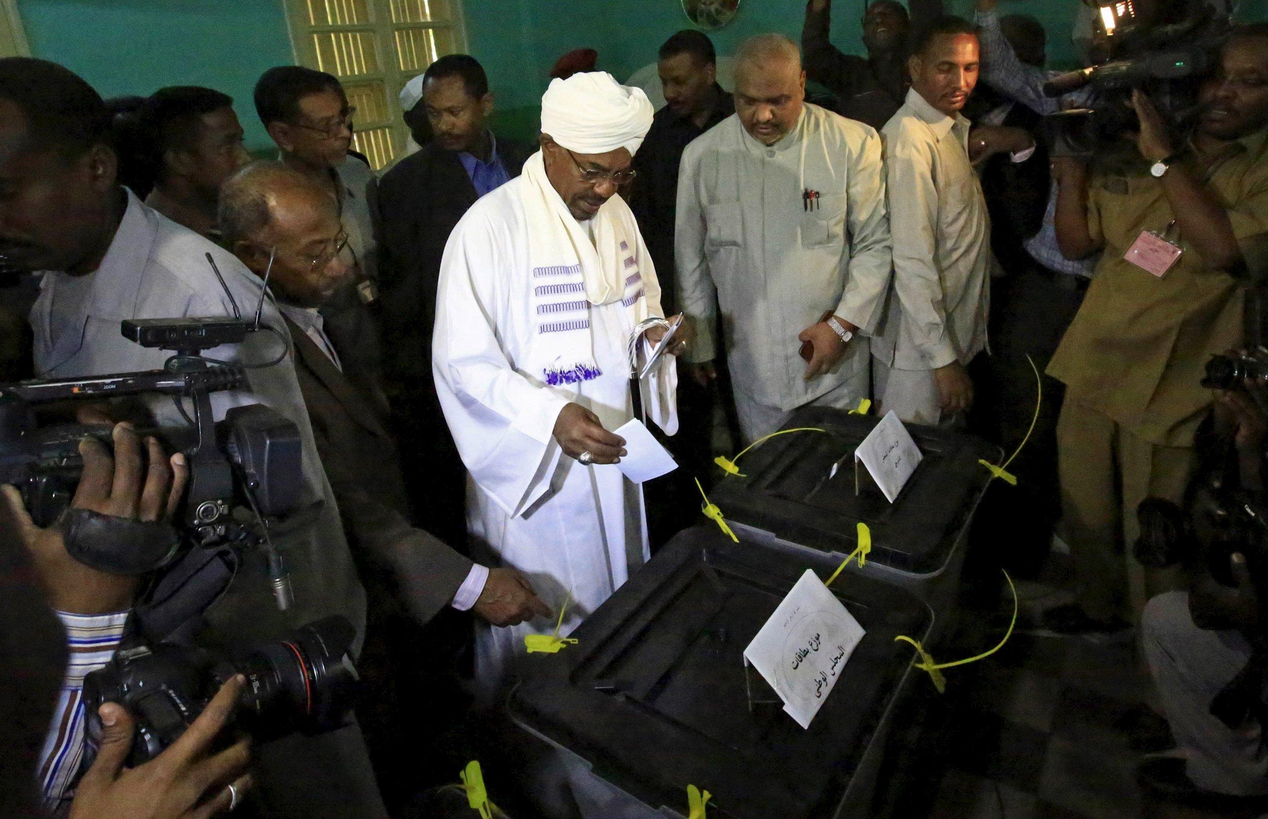 Bashir votes